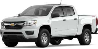 Front angled image of Chevrolet Colorado